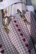pleated curtains with rings and hooks