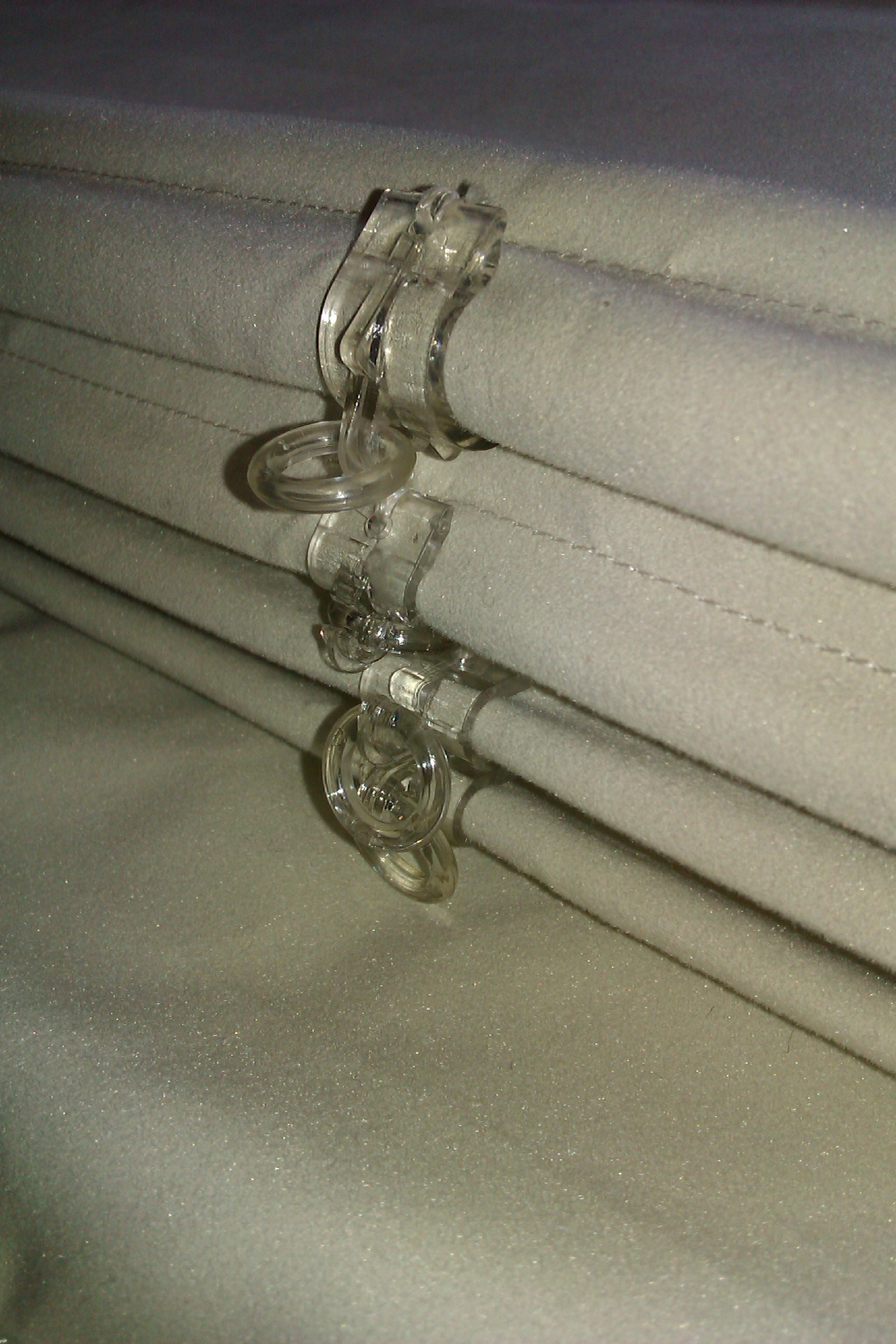 Interlined Roman Blind Detail Made To Measure