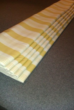 Interlined roman blind - made to measure, Winchcombe