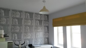 Made to measure roman blind - Winchcombe