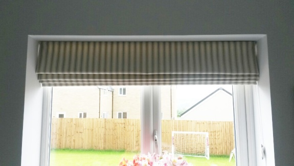 Lined roman blind - Made to measure, Alderton